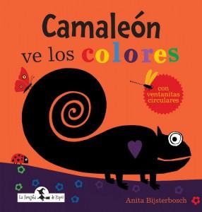 camaleon ve los colores